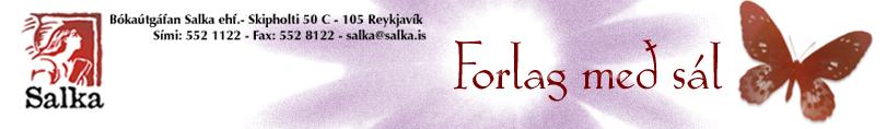 Bókaútgáfan Salka  - Hausmynd